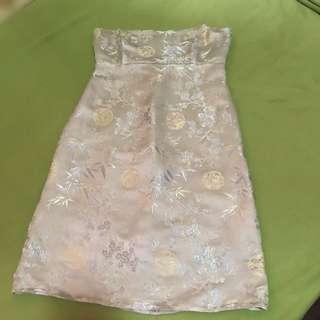 Chinese tube dress