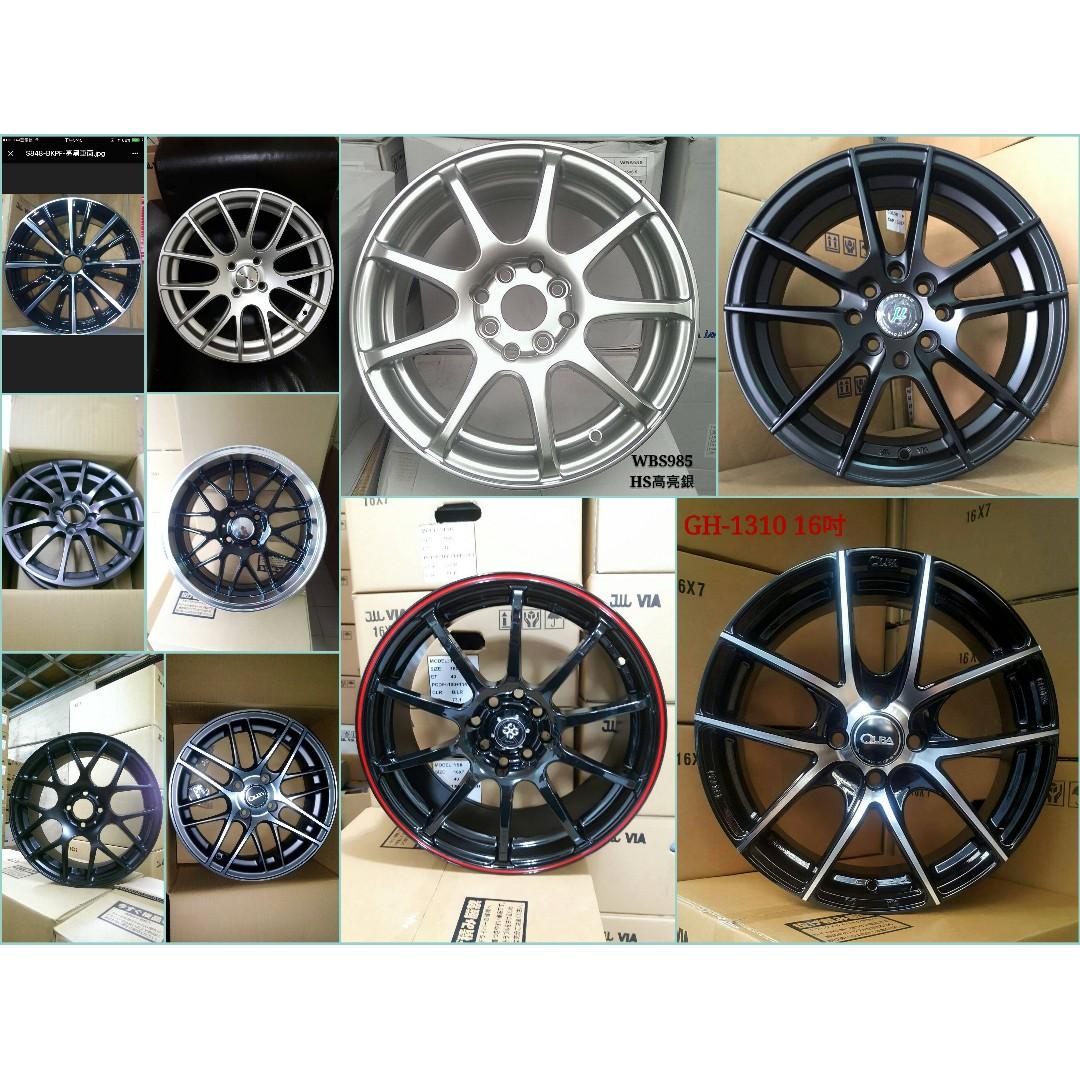 15吋鋁圈 搭配倍耐力 高性能歐洲進口全新輪胎 小資高CP 年終美車首選