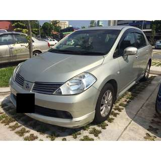 $1100 Monthly Car Rental Nissan Latio