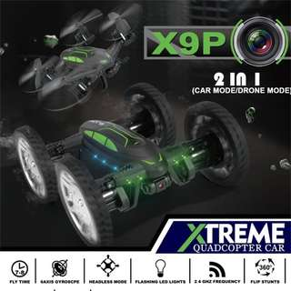 Xtreme Quadcopter Car