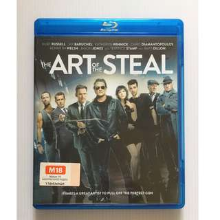 The Art of the Steal Blu Ray