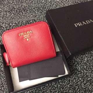 Red Prada cons bag