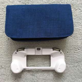 Pouch and L2/R2 Button Cover Grip for PS Vita (PCH-2000)