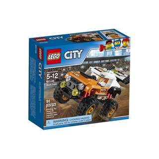 LEGO City Great Vehicles Stunt Truck 60146 Building Toy 91pcs