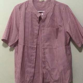 Red blouse (cotton)
