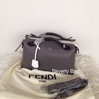 jual tas Fendi By The Way LEATHER MIRROR - grey