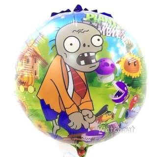 "18"" Plants Vs Zombie Foil Balloon"