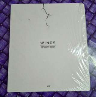 BTS Wings Concept Book (Ready Stock)