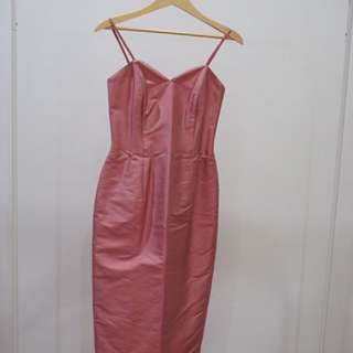 Tanktop dress pink