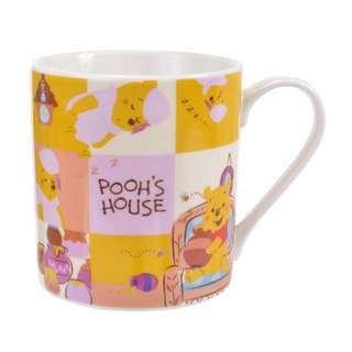 日本 Disney Store 直送 Winnie the Pooh 小熊維尼 Pooh's House 系列陶瓷杯