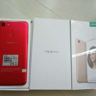 oppo f5 red 4ram 32gb