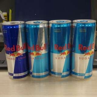 紅牛 Red Bull 4罐