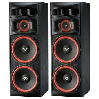 "Cerwin-Vega BIGGEST Dual 15"" Floorstanding Tower Speaker (UP $2900) WAREHOUSE PRICE $1750 a pair!!! Free Delivery"