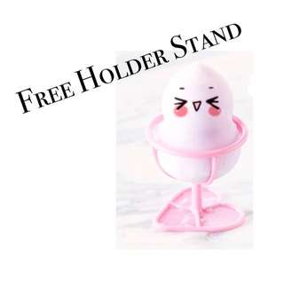 Foundation Makeup sponge with stand