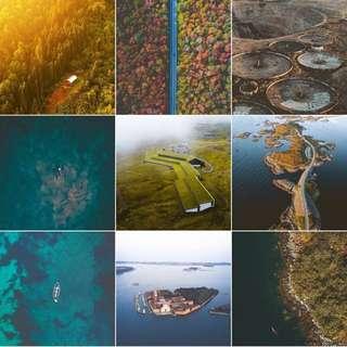 DJI Drone Fine Art Prints (Photos) ARTWORK