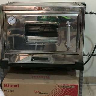 Lotus Gas Oven