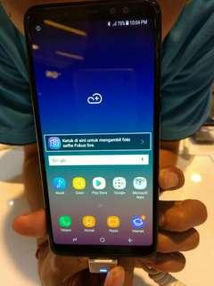 Promo free admin  Samsung Galaxy A8+