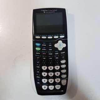 TI-84 Plus C Silver Edition Graphic Calculator
