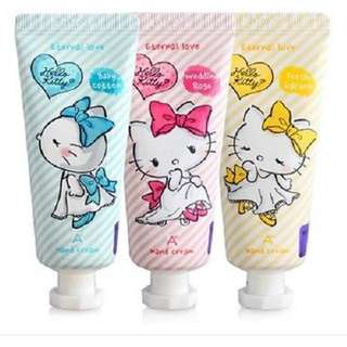 Hello kitty eternal love hand cream