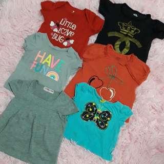 6 pcs Tshirt