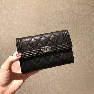 Chanel boy medium size wallet
