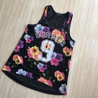 Terranova Floral Basketball Jersey