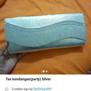 REPOST tas party silver