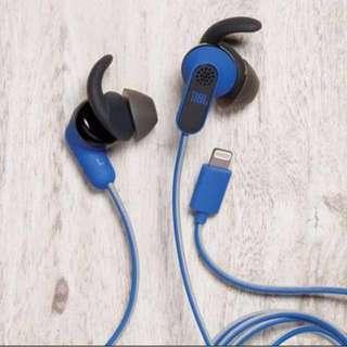 JBL Reflect Aware Blue Earphone BRAND NEW
