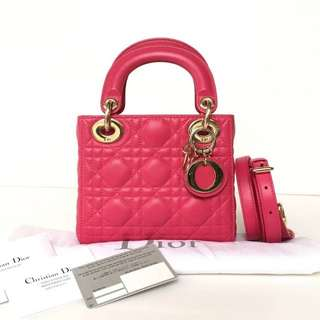 Authentic Lady Dior Mini