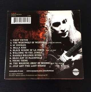 (COLLECTOR'S) JOHN-5: The Devil Knows My Name, Album / CD