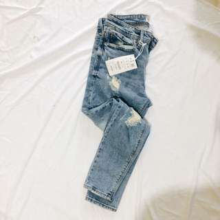 Pull&Bear Super Skinny Cropped Jeans