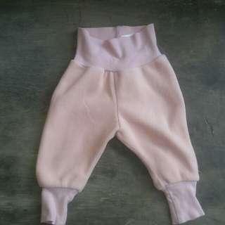 Pink Fur Pants