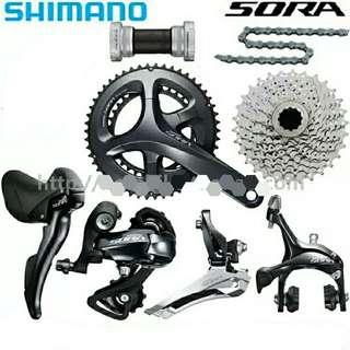SHIMANO SORA R3000 Full groupset