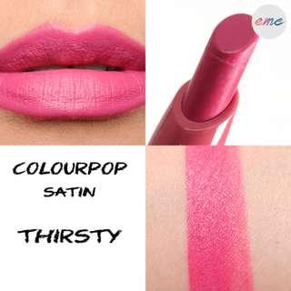 BN Colourpop Lippiestix Thirsty - Satin