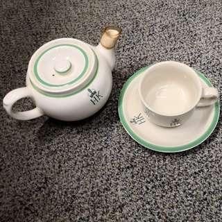 前港英政府用茶具