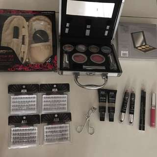 Eyebrow Kit, Contour/ Concealer Kit, Makeup Kit, Primer, Eyelashes, etc.