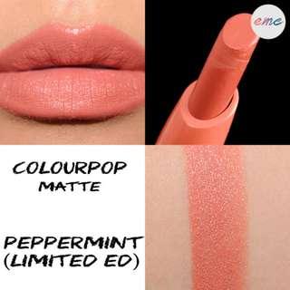 BN Colourpop Lippiestix Matte - Peppermint