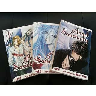 Angel Sanctuary Manga