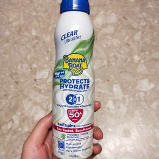 Banana Boat Sunscreen SPF 50+
