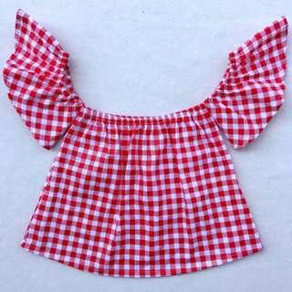 Kids Off Shoulder blouse
