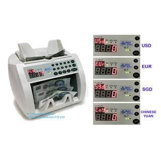 Banknote / Money Counter / Currency Detector (1 Year Warranty)