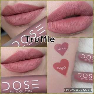 Authentic Dose of Colour Liquid Lipstick- Truffle