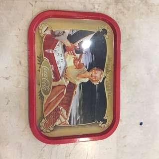 Vintage Coca Cola Metal Tray