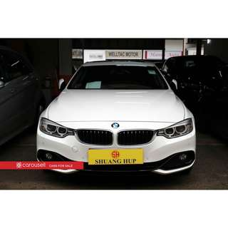 BMW 4 Series 420i Coupe Luxury
