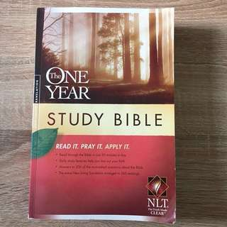 The One Year Study Bible