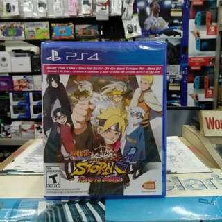 🆕 PS4 Naruto Shippuden Ultimate Ninja Storm 4 Road To Boruto