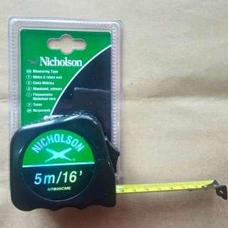 Nicholson Tape Measure 5M/16FT