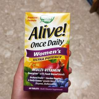 Alive Once Daily Women's Vitamin