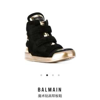Balmain men hi-top sneacker size:41