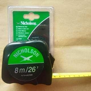Nicholson Tape Measure 8M